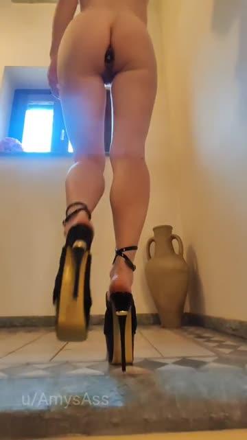 heels and plug