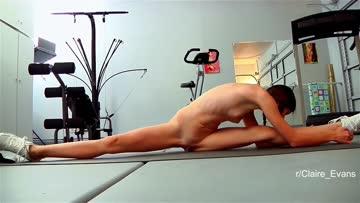 impressive flexibility - claire_evans
