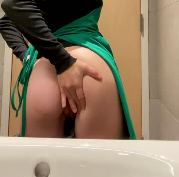 will you lick my asshole in my work bathroom? 🤤😈