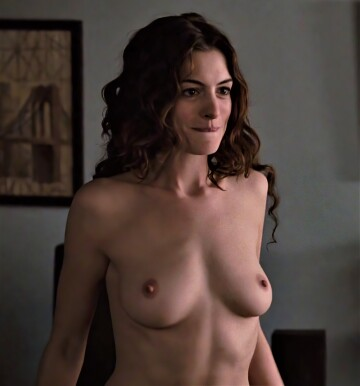 i just wanna chat about anne hathaway's boobs