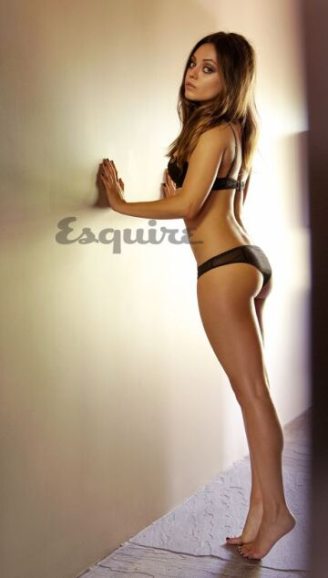 yes master this wall. slam into me so hard and repeatedly and leave a dent in the dry wall. are you up for it? mila kunis