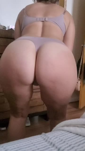 big ass lingerie thong solo babe curvy hotwife porn video