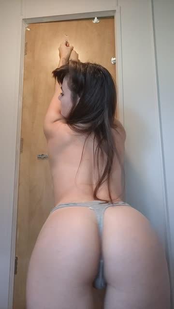ass long hair petite