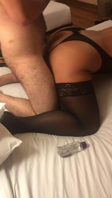 anal hotel hotwife blonde cuckold nsfw video
