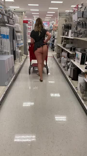 ass dress pawg public hot video