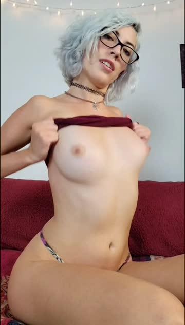 nipple play erect nipples perky glasses choker belly button xxx video