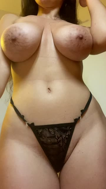 nipple big nipples thick thong brunette nipple play free porn video