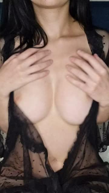 boobs avery black lingerie nsfw video