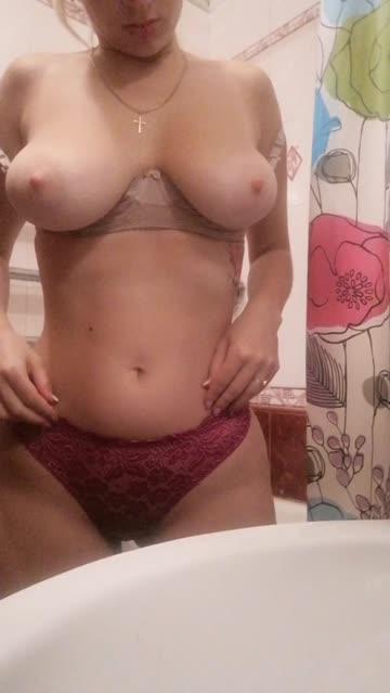 girls big tits underwear hot video