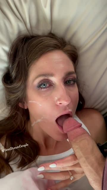 cumshot facial cum sex video