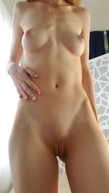 blonde natural tits petite hot video