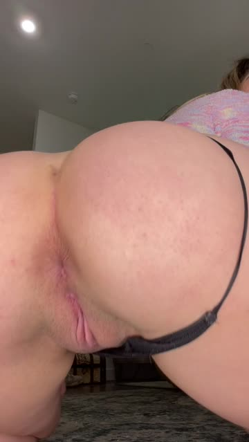 asshole thong booty pussy nsfw video