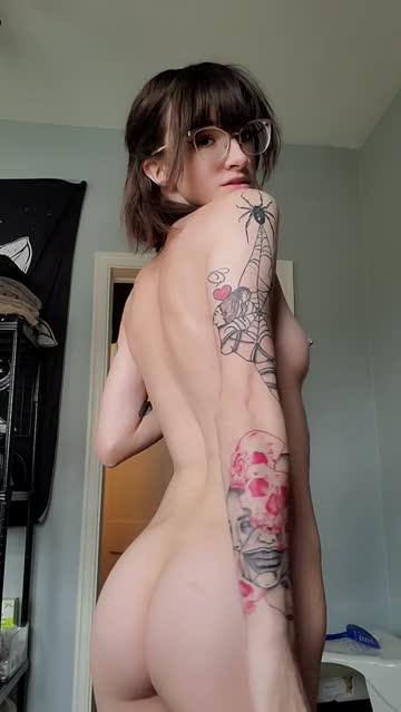 ass tiny natural tits nsfw video