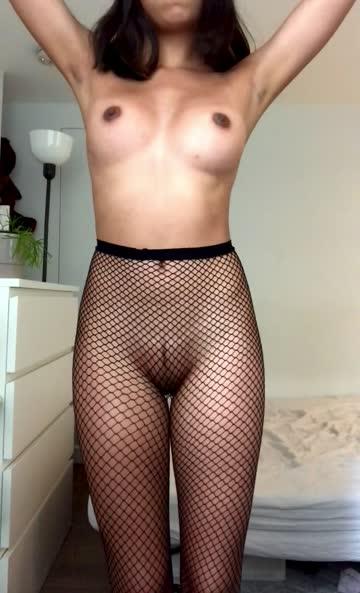 fishnet bouncing bouncing tits porn video