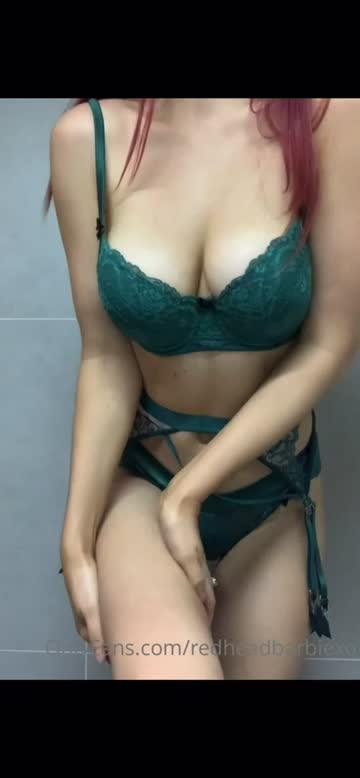 lingerie stripping redhead xxx video
