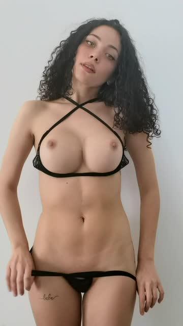 fake boobs babe tiktok striptease nsfw video