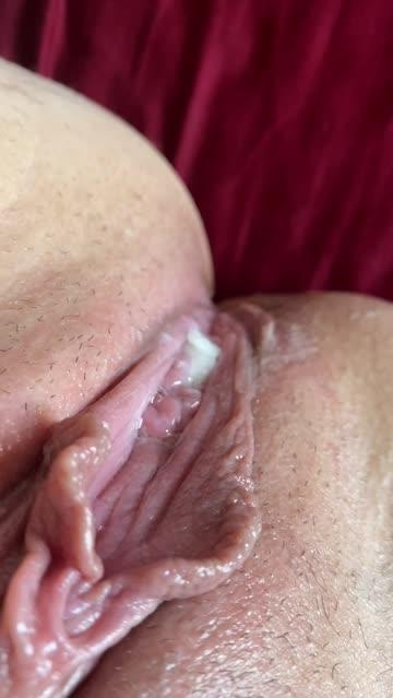 pussy dripping creampie xxx video