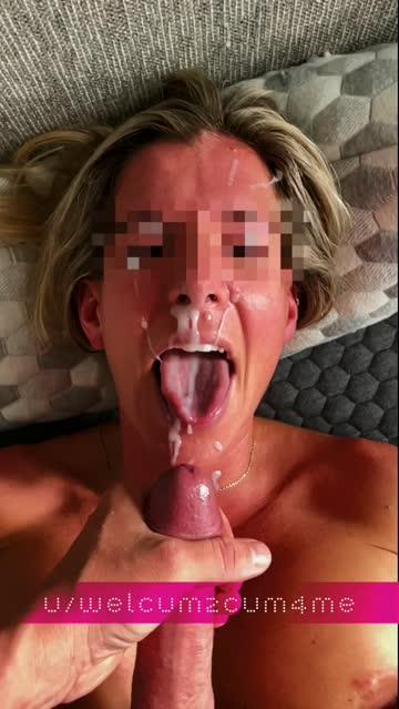 cum slow motion facial porn video